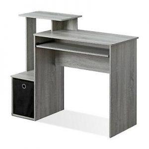 FURINNO Econ 12095GYW Multipurpose Computer Desk