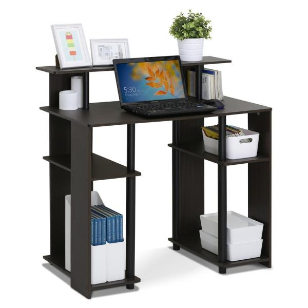 FURINNO Jaya 15071WNBK Computer Writing Desk: