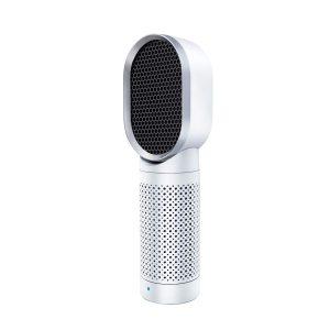 QUEENTY Desktop Air Cleaner with True HEPA Filter