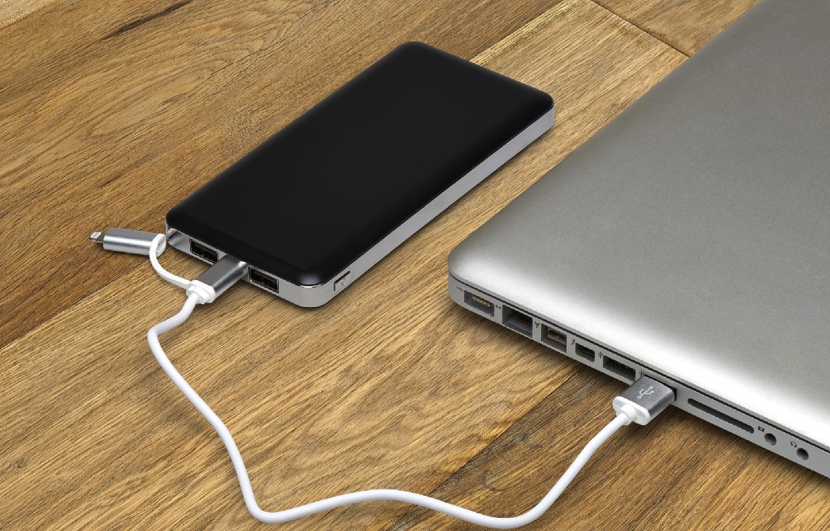 how to charge laptop battery externally