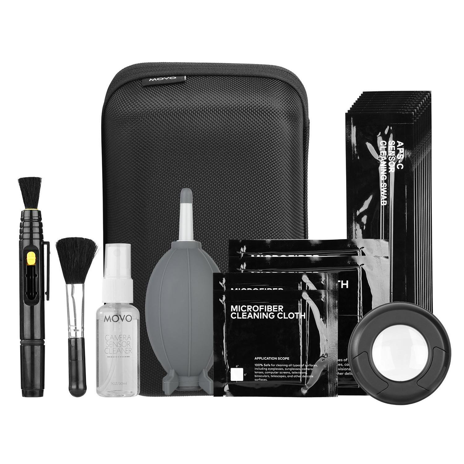 Movo Deluxe Essentials DSLR Camera Cleaning Kit