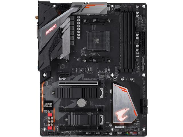 GIGABYTE B450 AORUS PRO Wi-Fi the Best Motherboards with Built-in Wi-Fi