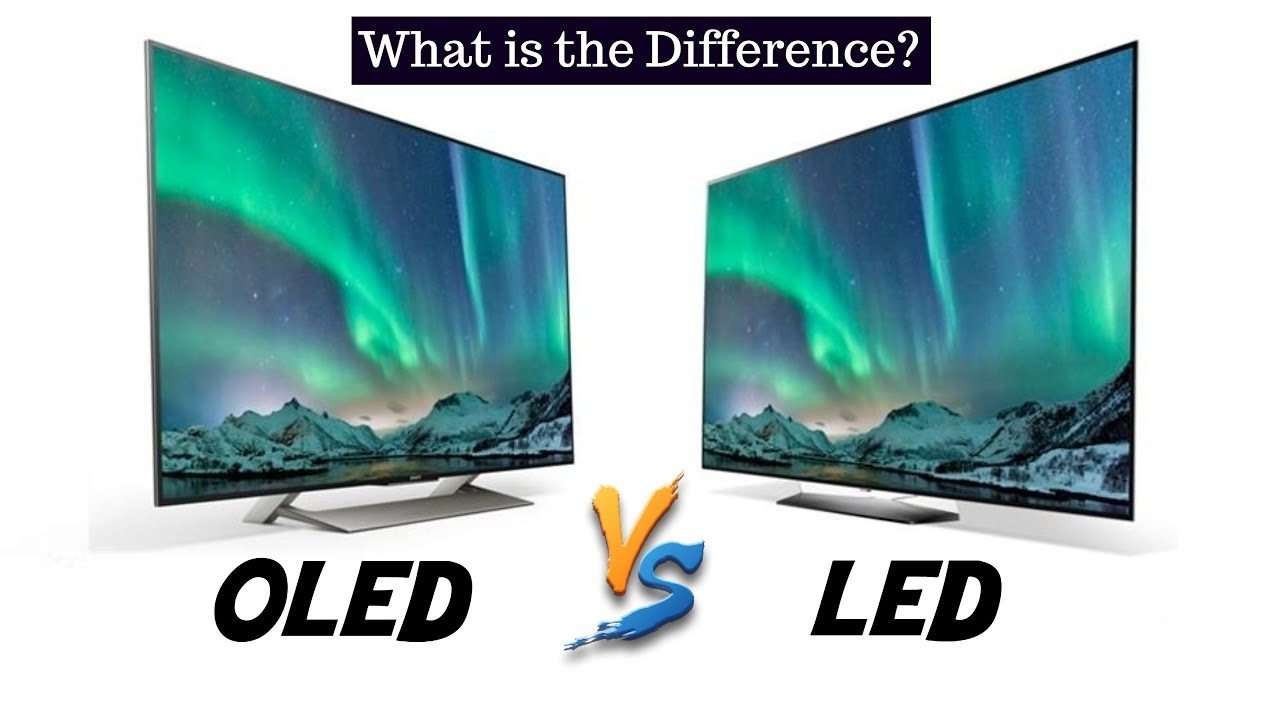 OLED and LED, what is the difference