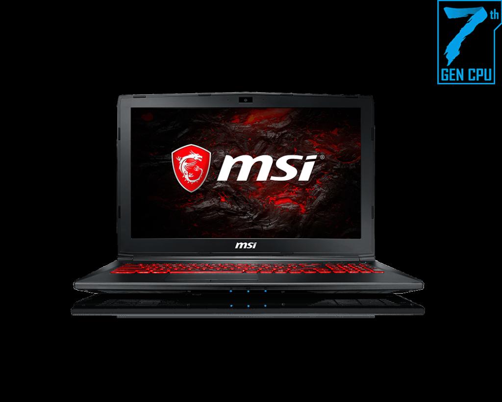 MSI GL62M 7REX-1896US