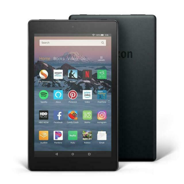 Fire HD 8 Tablet Best Android Tablets for Reading