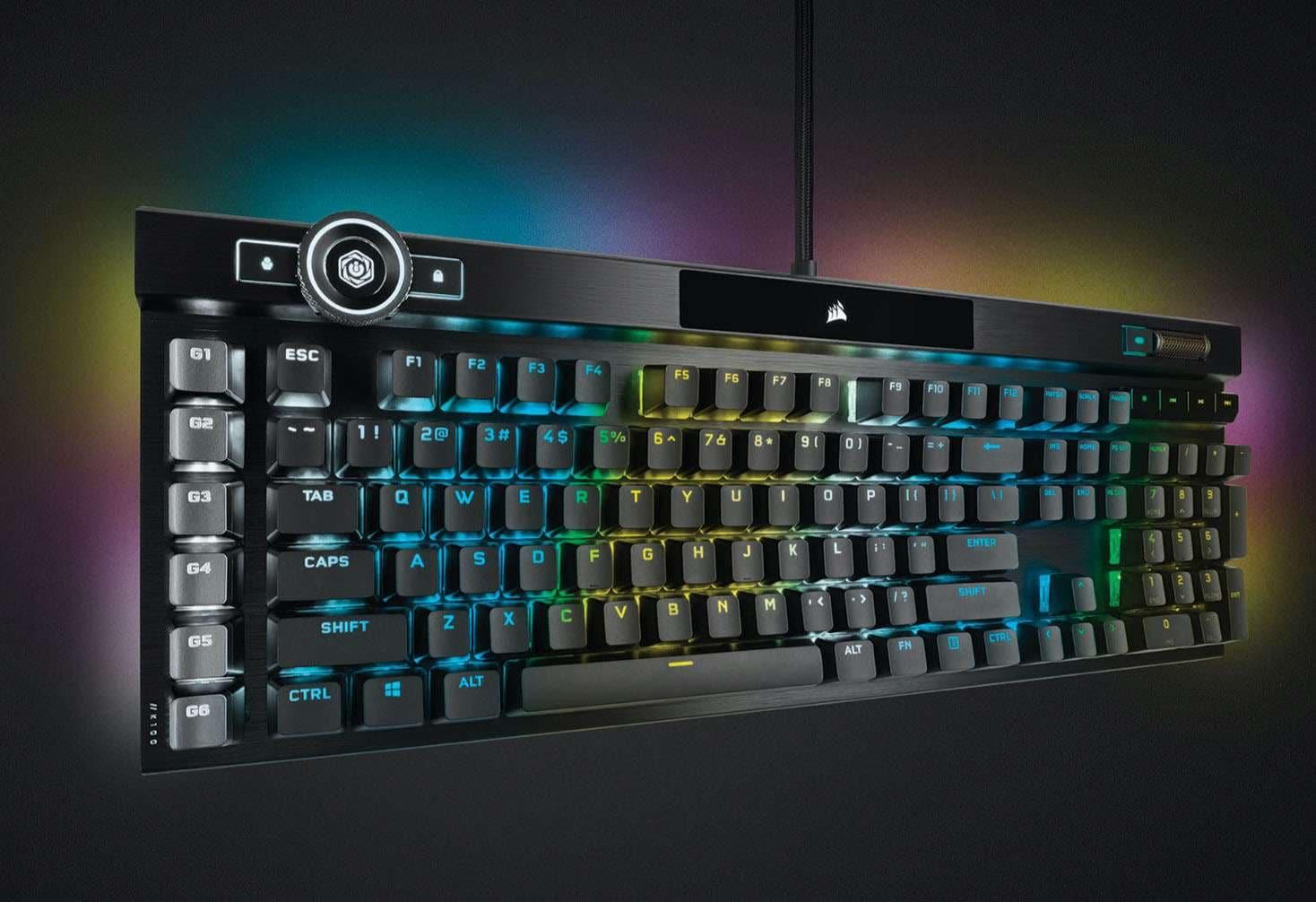 Corsair K100 RGB Keyboard Review