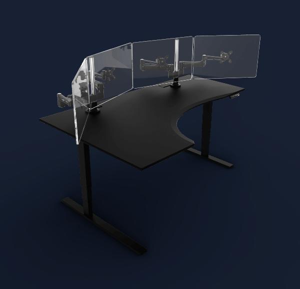 Evodesk Gaming Desk Best L Shaped Gaming Desks