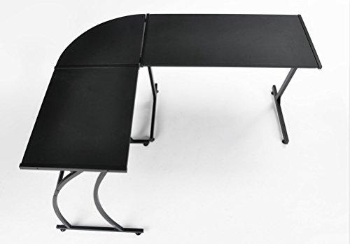 GreenForest L-Shaped Corner Desk